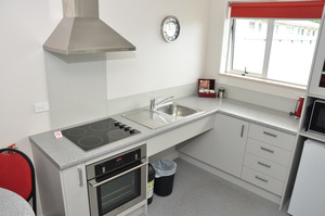 Fully accessible Kitchen Unit 5